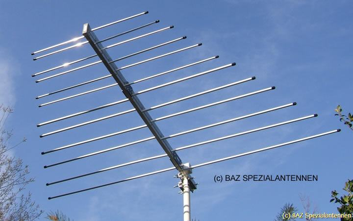amateur Log radio antenna periodic