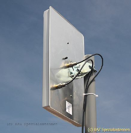 LTE MiMo high performance directional antenna BAZ special